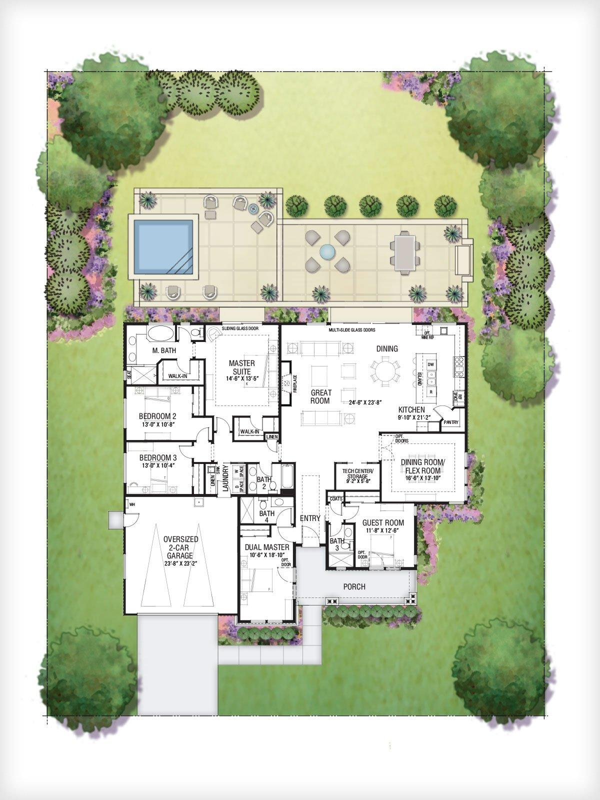 floor plan 22X