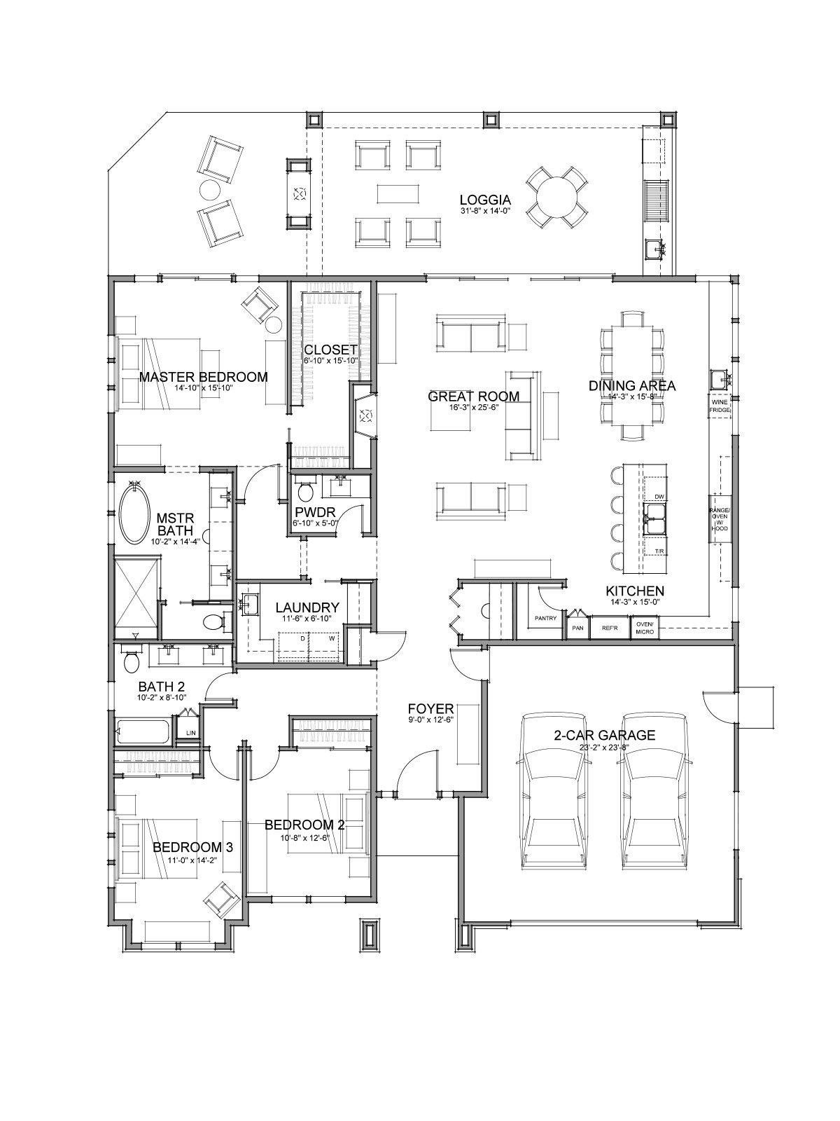 Floor Plan Plan 55
