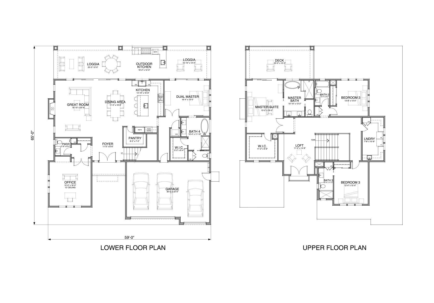 Floor Plan Plan 59