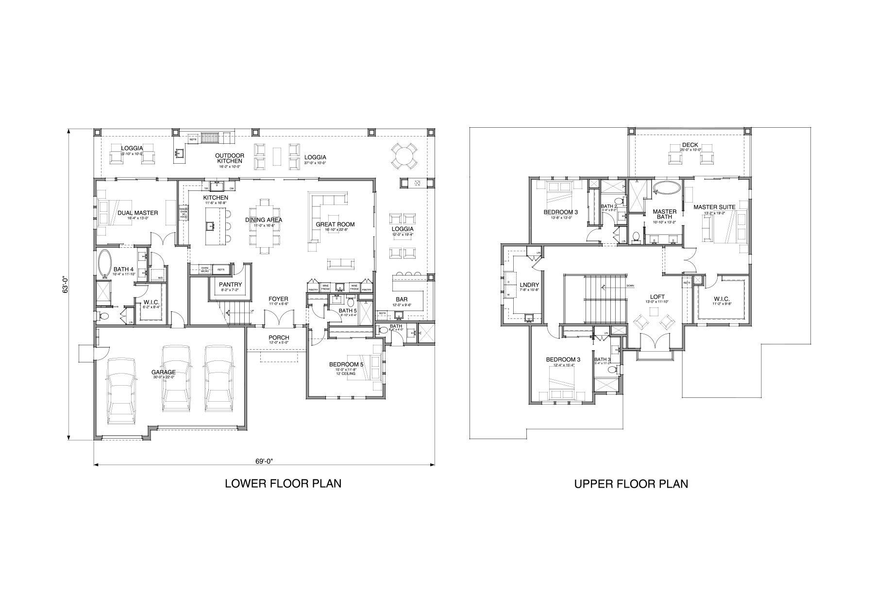 Floor Plan Plan 59x